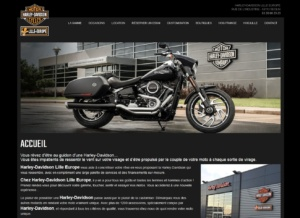 site web moto responsive design via PC, tablettes et smartphones