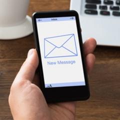 E-mailing – SMS